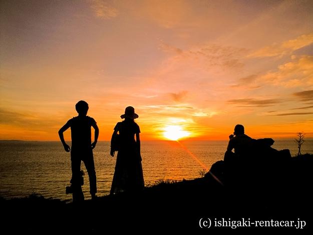 石垣島御神崎の夕日